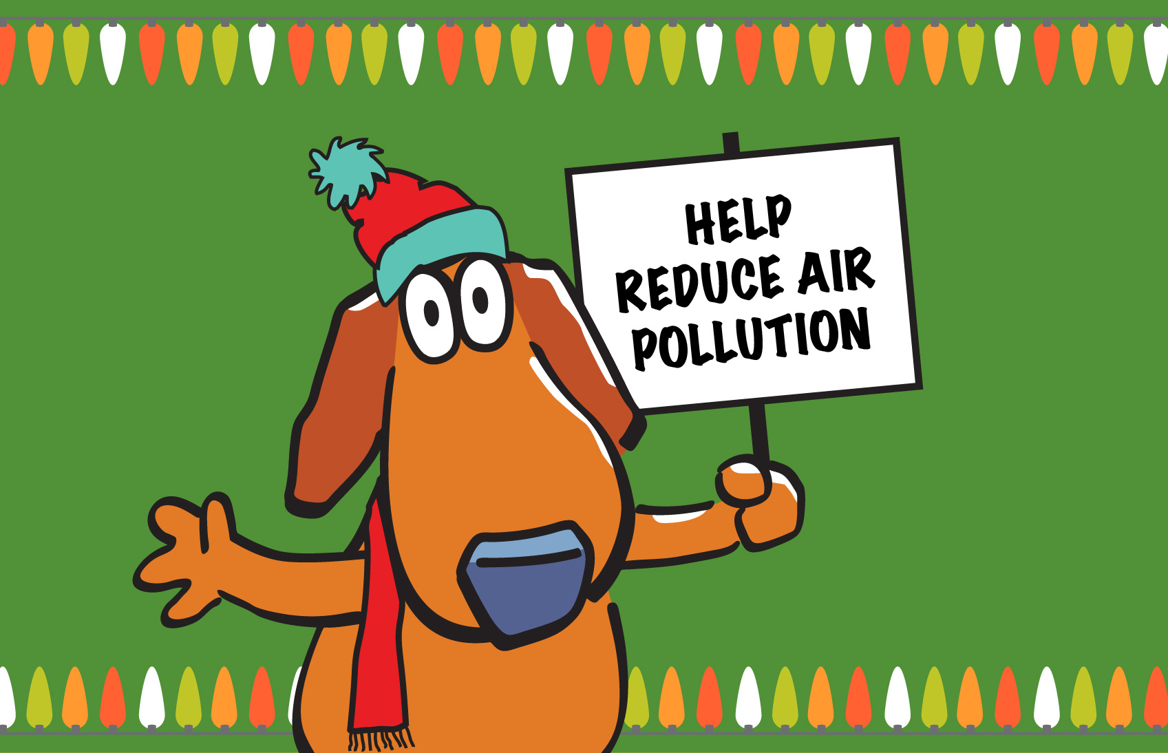 Holiday Scooter Blog Help Reduce air pollution