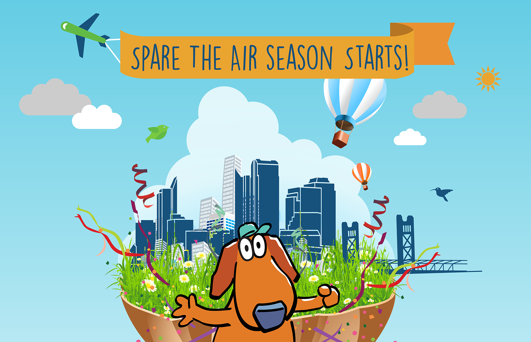Spare The Air Season Starts